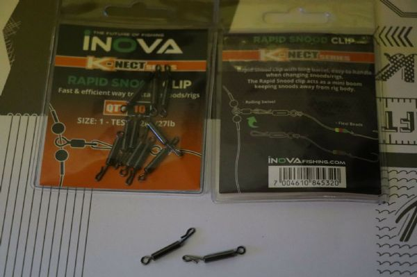 NEW Inova Rapid Snood Clip ..Packs of 10